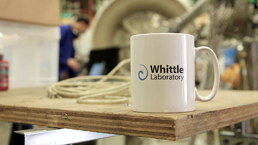 Have a coffee at the Whittle Laboratory